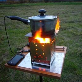 Firebox Folding Camp Stove Oudoor Cook Stove