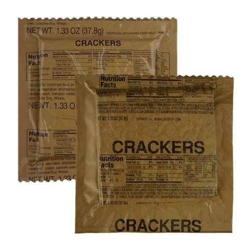 mre regular crackers mres ready to eat snacks. Black Bedroom Furniture Sets. Home Design Ideas