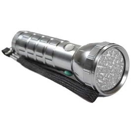 28 LED Tri Color Flashlight - Red - Green - White