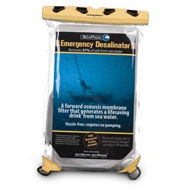 SeaPack Emergency Water Desalinator Filter
