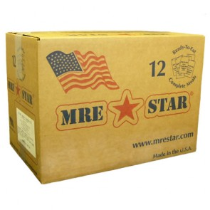 MRE Star Vegetarian Menu