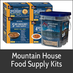 mountain house freeze dried food emergency survival camping