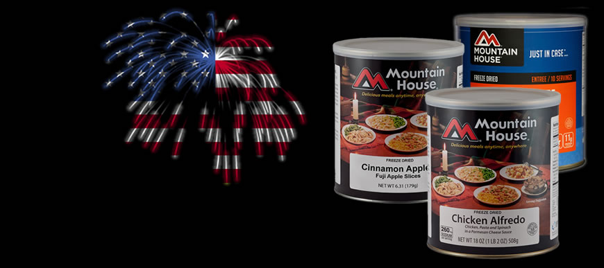 Mountain House Can Sale-A-Bration