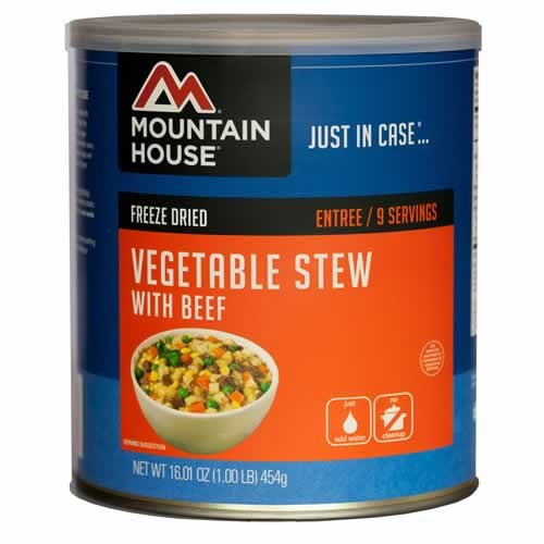 Mountain House #10 Can VEGETABLE STEW with BEEF