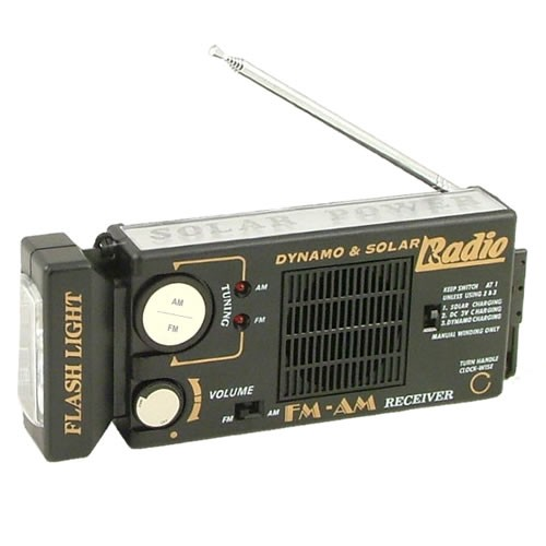Original Survival Radio with Built-In Flashlight