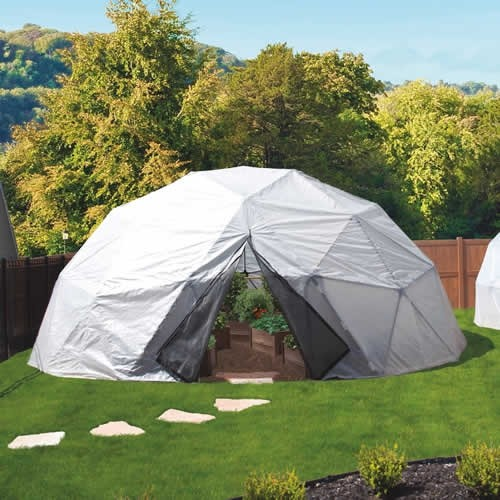 24 Geodesic Greenhouse 450 Square Feet: 24-Foot Geodesic Dome Greenhouse Kit By Harvest Right