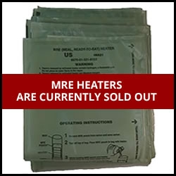 Lowest Prices On Military Mre Flameless Ration Heaters Other Essentials